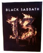 Black Sabbath - '13 Flaming' Giant Backpatch